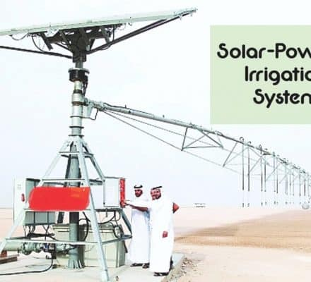 1st Solar-Powered Irrigation System