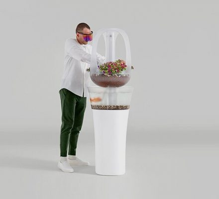 Eva's Aquaponics Furniture