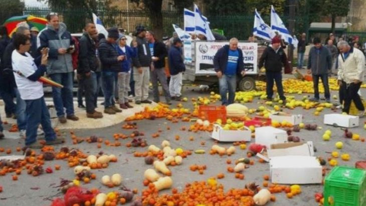 Israeli Farmers Protest Agriculture Reform