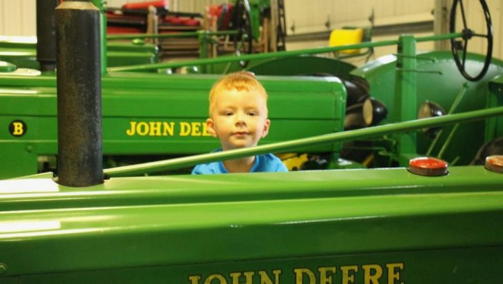 Collection Of Former Illinois Senator's Tractor